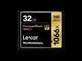 Lexar CF 1066x Pro 256GB
