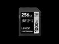 Lexar UHS-II SDXC 1000x Pro256GB