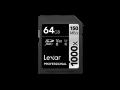 Lexar UHS-II SDXC 1000x Pro64GB