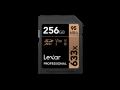 Lexar UHS-I U3 SDXC 633x Pro*256GB
