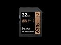 Lexar UHS-I U1 SDHC 633x Pro*32GB