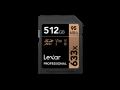Lexar UHS-I U3 SDXC 633x ProWrite 70MB 512GB