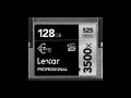 Lexar CFast 3500x Pro 128GB