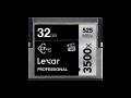 Lexar CFast 3500x Pro 32GB