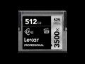 Lexar CFast 3500x Pro 512GB