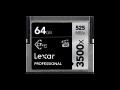 Lexar CFast 3500x Pro 64GB