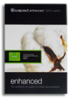 Somerset Enhanced Radiant White Velvet  A5 225g 50 x A5 Centre Scored Cards (A5 Sheets Folding to A6)