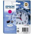 Epson 27 Ink T2703 Magenta Original Epson Ink Cartridge (3.6ml ink) - Clock