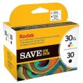 Kodak Series 30 Black and Colour Ink Cartridges